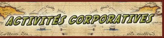 Activité;s corporatives