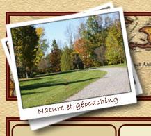 Bois-de-Belle-Rivière et activités plein air géocaching en groupe