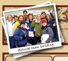 Team building activités de groupe géocaching